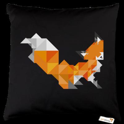 Motiv: Kissen Baumwolle - Foxy Triangle