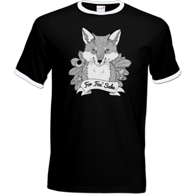 Motiv: T-Shirt Ringer - For Fox Sake