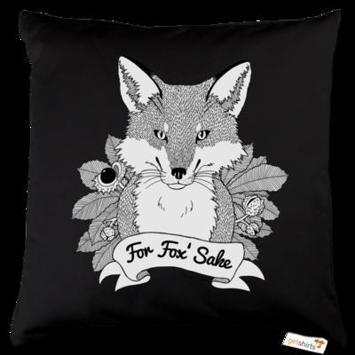 Motiv: Kissen Baumwolle - For Fox Sake