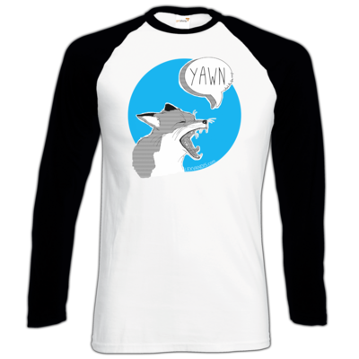 Motiv: Longsleeve Baseball T - What the Fox says