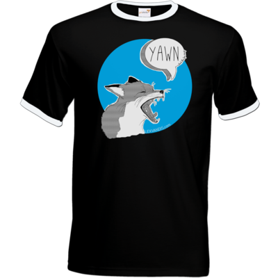 Motiv: T-Shirt Ringer - What the Fox says