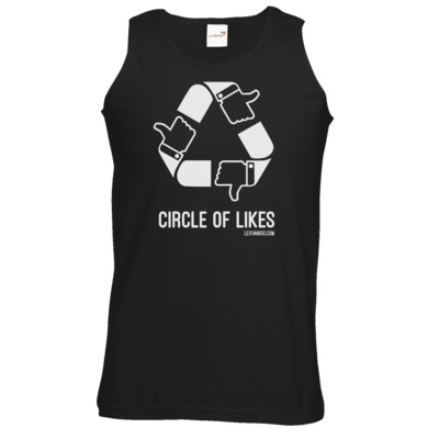 Motiv: Athletic Vest - Circle of Likes