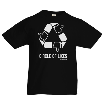 Motiv: Kids T-Shirt Premium FAIR WEAR - Circle of Likes