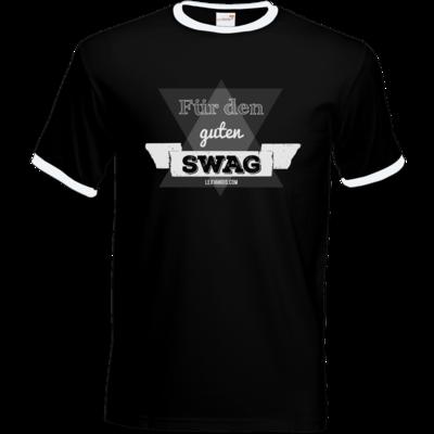 Motiv: T-Shirt Ringer - Fuer den guten Swag