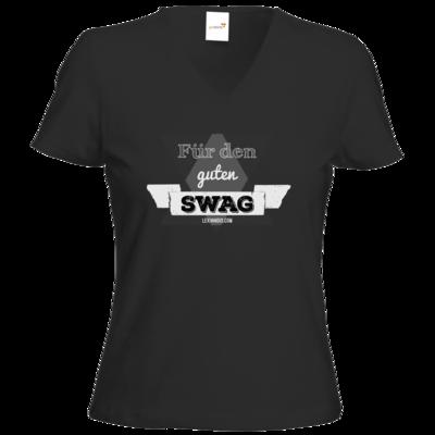 Motiv: T-Shirt Damen V-Neck Classic - Fuer den guten Swag