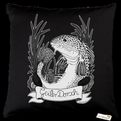 Motiv: Kissen Baumwolle - Geiler Dorsch