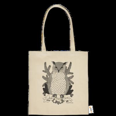 Motiv: Baumwolltasche - Owl Inclusive
