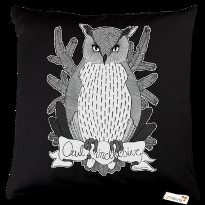 Motiv: Kissen Baumwolle - Owl Inclusive