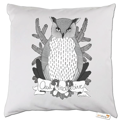 Motiv: Kissen - Owl Inclusive