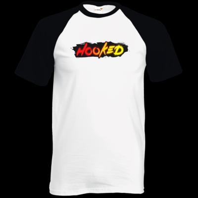 Motiv: TShirt Baseball - Hooked Logo
