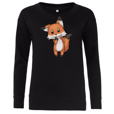 Motiv: Girlie Crew Sweatshirt - Syrenia - Fox 1
