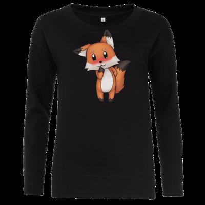Motiv: Girlie Crew Sweatshirt - Syrenia - Fox 3