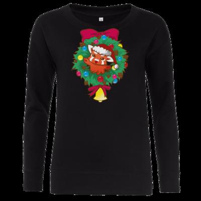 Motiv: Girlie Crew Sweatshirt - Syrenia - Christmas