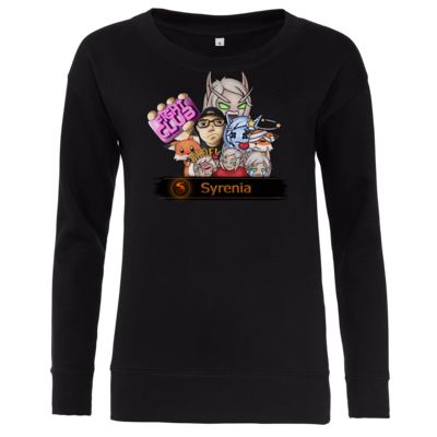 Motiv: Girlie Crew Sweatshirt - Syrenia - Collage
