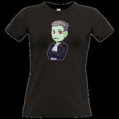 Motiv: T-Shirt Damen Premium FAIR WEAR - Shizzy_Horror