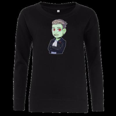 Motiv: Girlie Crew Sweatshirt - Shizzy_Horror