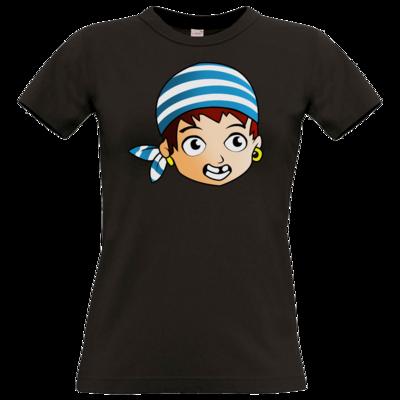 Motiv: T-Shirt Damen Premium FAIR WEAR - Matrose