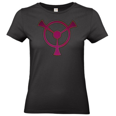 Motiv: T-Shirt Damen Premium FAIR WEAR - Götter und Dämonen - Symbole - Namenloser