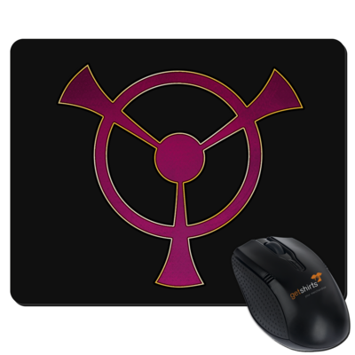 Motiv: Mousepad Textil - Götter und Dämonen - Symbole - Namenloser