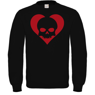 Motiv: Sweatshirt FAIR WEAR - Piratenherz