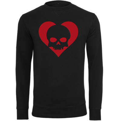 Motiv: Light Crew Sweatshirt - Piratenherz