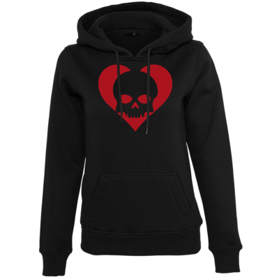 Motiv: Womens Heavy Hoody - Piratenherz
