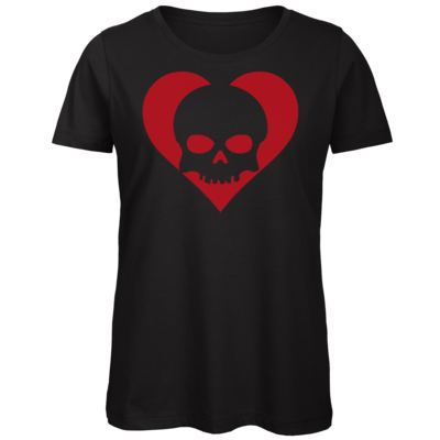 Motiv: Organic Lady T-Shirt - Piratenherz