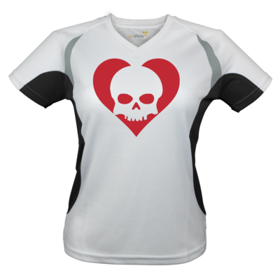 Motiv: Laufshirt Lady Running T - Piratenherz