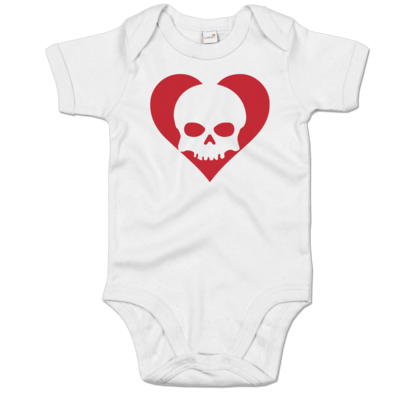 Motiv: Baby Body Organic - Piratenherz