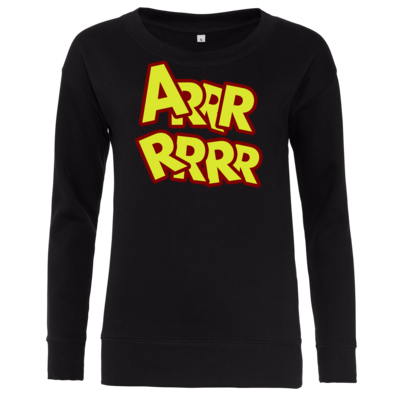 Motiv: Girlie Crew Sweatshirt - ARRRRRRR