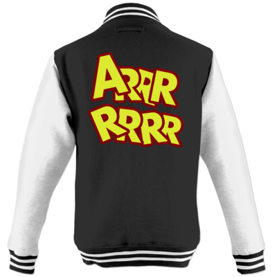 Motiv: College Jacke - ARRRRRRR