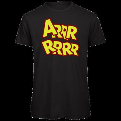Motiv: Organic T-Shirt - ARRRRRRR