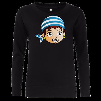 Motiv: Girlie Crew Sweatshirt - Matrose