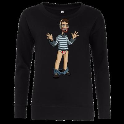 Motiv: Girlie Crew Sweatshirt - Hosenlos