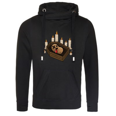 Motiv: Cross Neck Hoodie - Potatoe Sarg