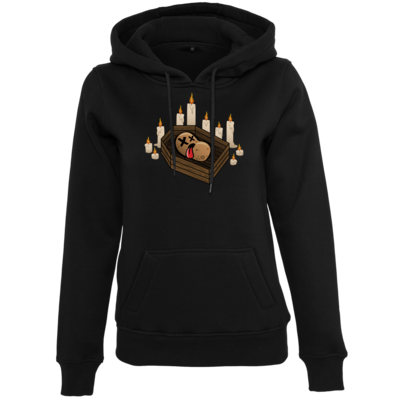 Motiv: Womens Heavy Hoody - Potatoe Sarg