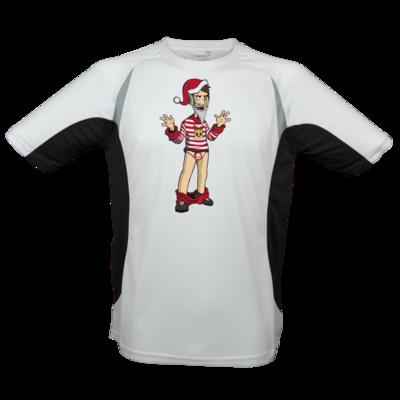 Motiv: Laufshirt Running T - Weihnachten