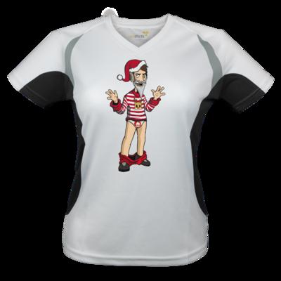 Motiv: Laufshirt Lady Running T - Weihnachten