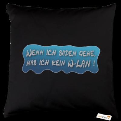 Motiv: Kissen Baumwolle - Schaumtext