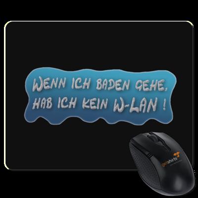 Motiv: Mousepad Textil - Schaumtext