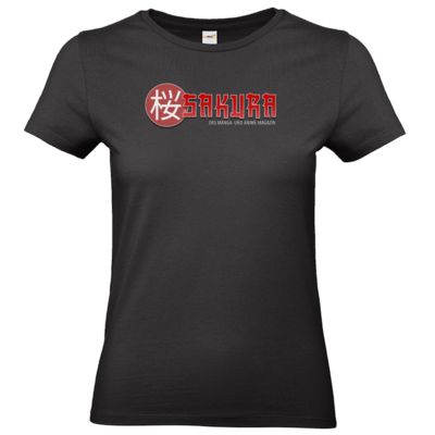 Motiv: T-Shirt Damen Premium FAIR WEAR - Sakura Logo