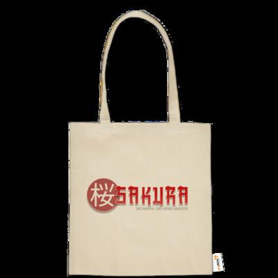 Motiv: Baumwolltasche - Sakura Logo