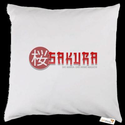 Motiv: Kissen - Sakura Logo