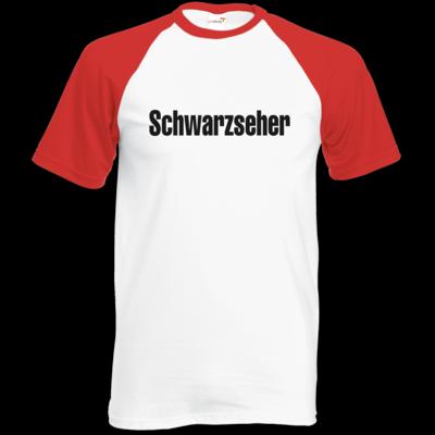 Motiv: Baseball-T FAIR WEAR - Schwarzseher