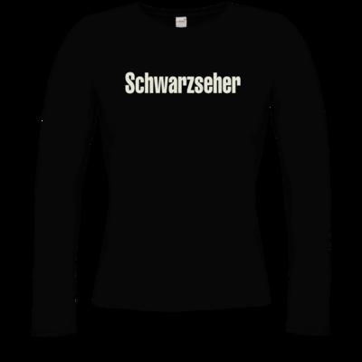 Motiv: Longsleeve Damen FAIR WEAR - Schwarzseher