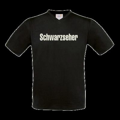 Motiv: T-Shirt V-Neck FAIR WEAR - Schwarzseher