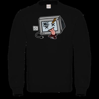 Motiv: Sweatshirt FAIR WEAR - TV kaputt