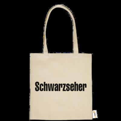 Motiv: Baumwolltasche - Schwarzseher