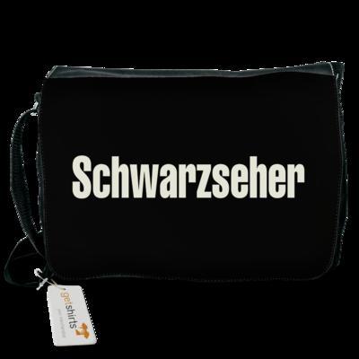 Motiv: Schultertasche - Schwarzseher