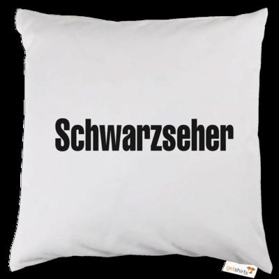 Motiv: Kissen - Schwarzseher
